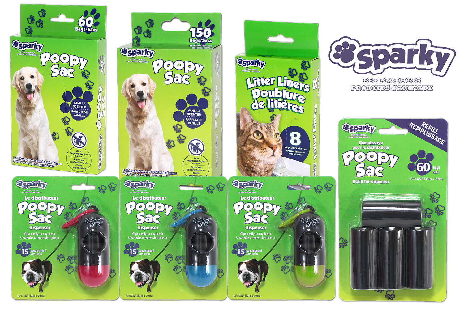 Sparky Pet Products:  New Look, Same Tuff Quality