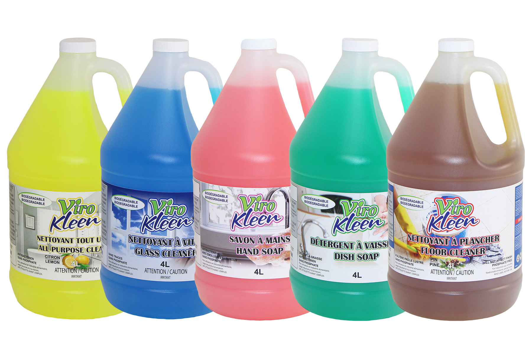 Viro Kleen Industrial Cleaners