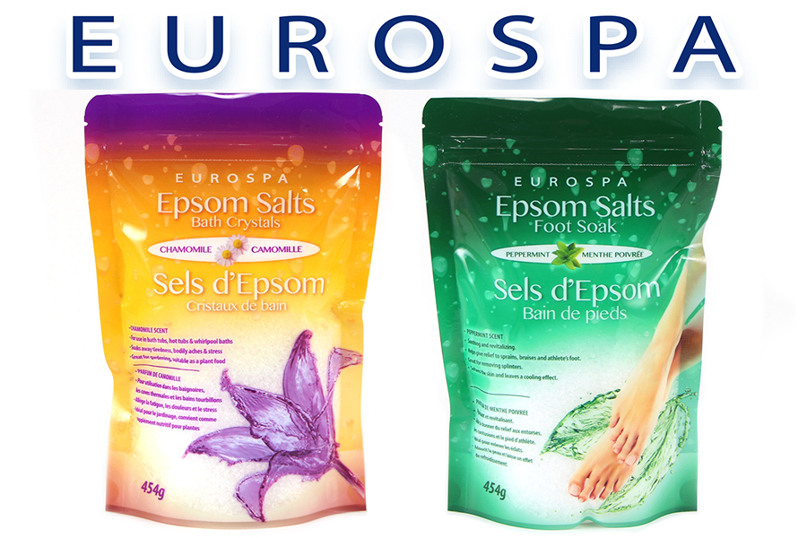 New Product: EUROSPA Epsom Salts
