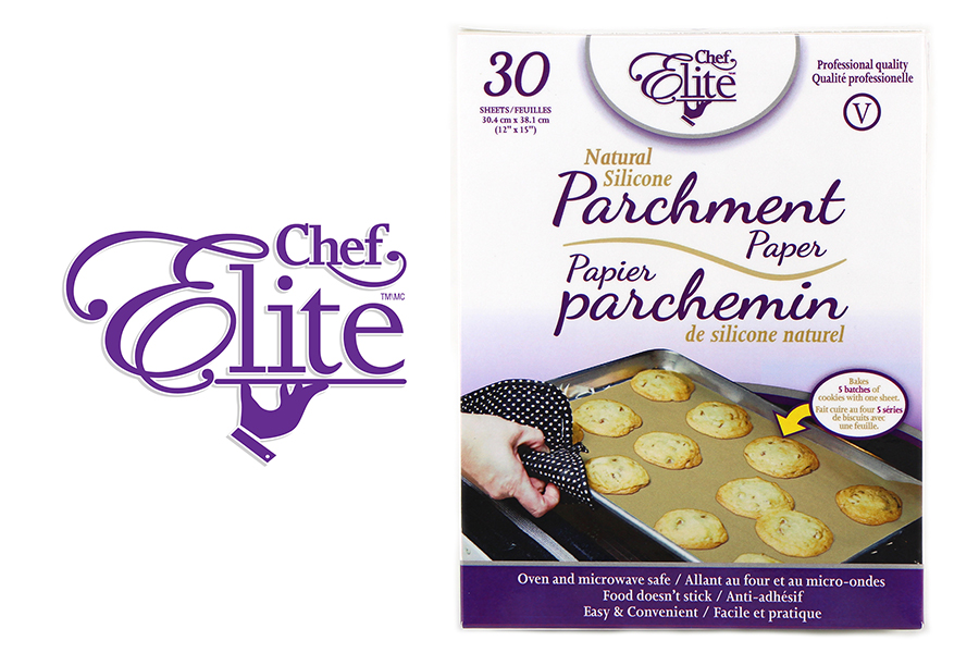 New Product: Chef Elite Natural Silicone Parchment Paper