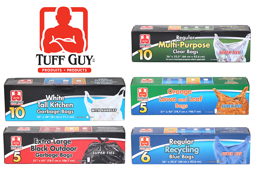 New Products: Tuff Guy Garbage Bags