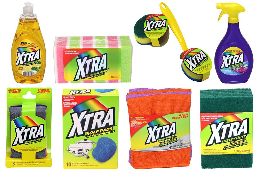 New Products: XTRA Household Products