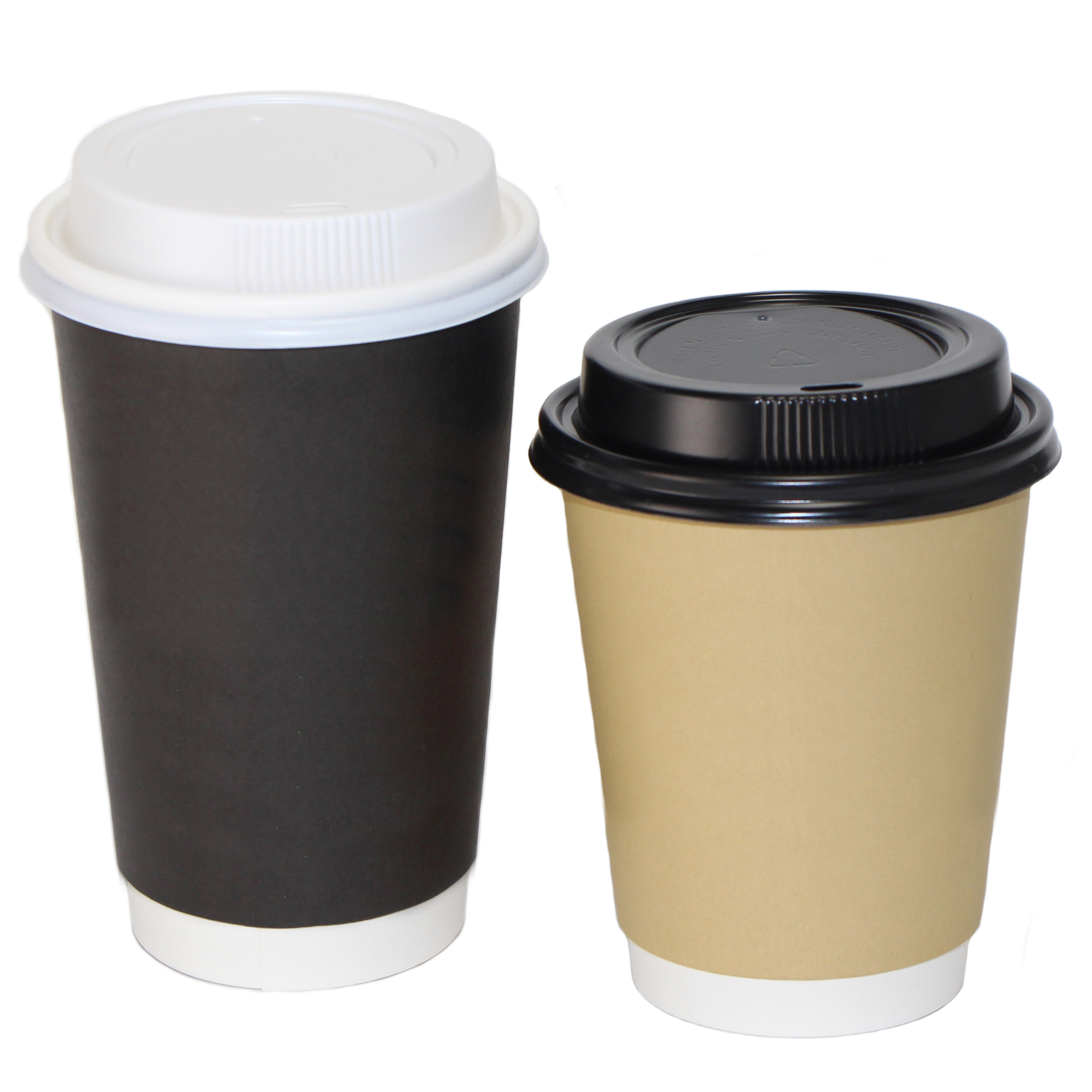Custom Printed Coffee Cups • Singlewall, Doublewall And Ripplewall • Sizes: 4, 8, 10, 12, 16, 20, 24 Oz • Minimums: 50 To 100 Cases (1,000 Units/case) • Superior Print Quality To Show Your Logo/message